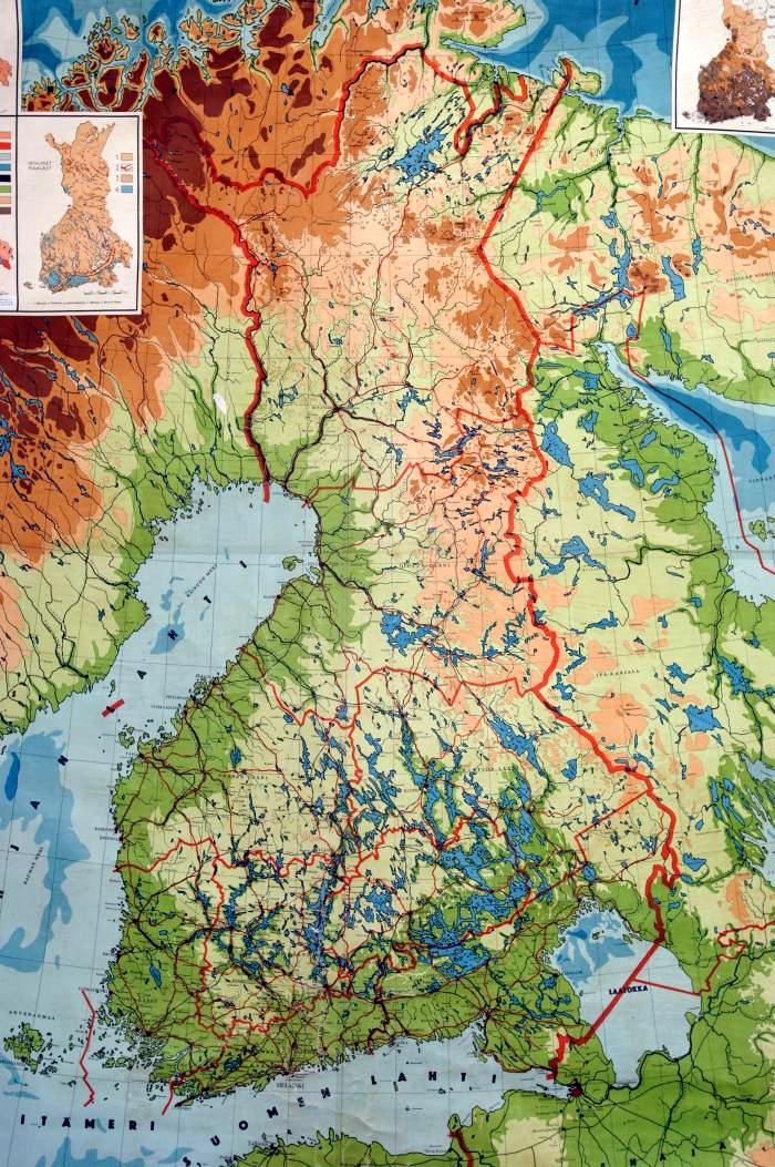 Pihlajaveden Ala Aste Keuruu Suomen Kartta 1930 Luvulla